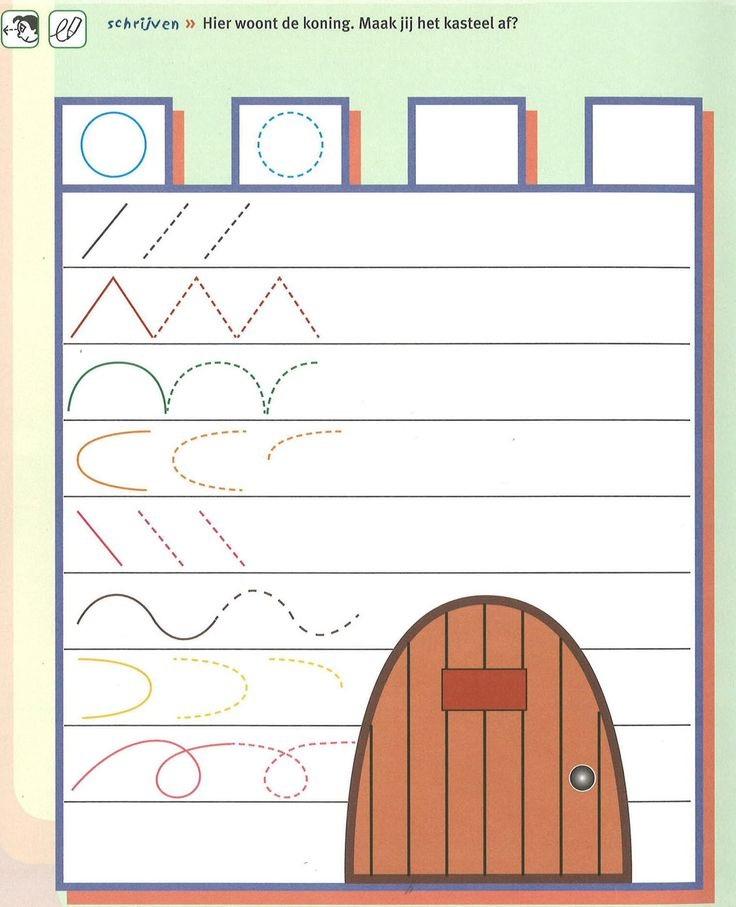 castle trace line worksheet