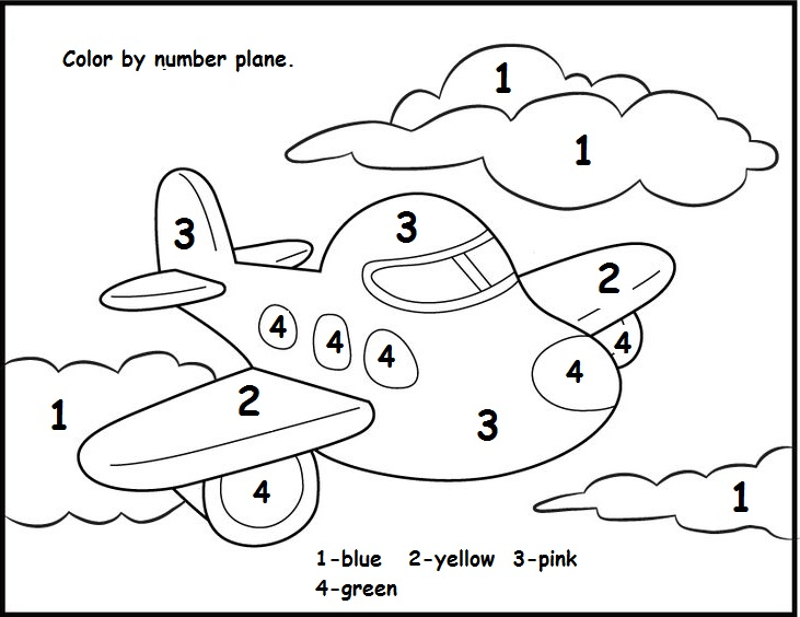 Kindergarten Color By Number Preschool Color By Number Worksheets – Kindergarten Color by Number Worksheets