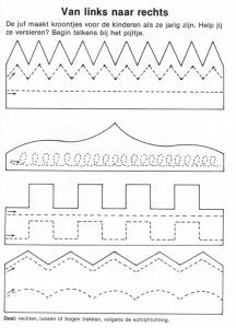 crown trace worksheet