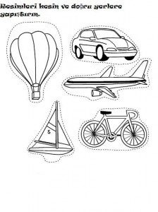 cut and paste transportation worksheet (2)
