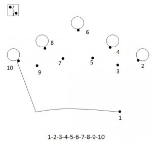 dot to dot crown worksheet