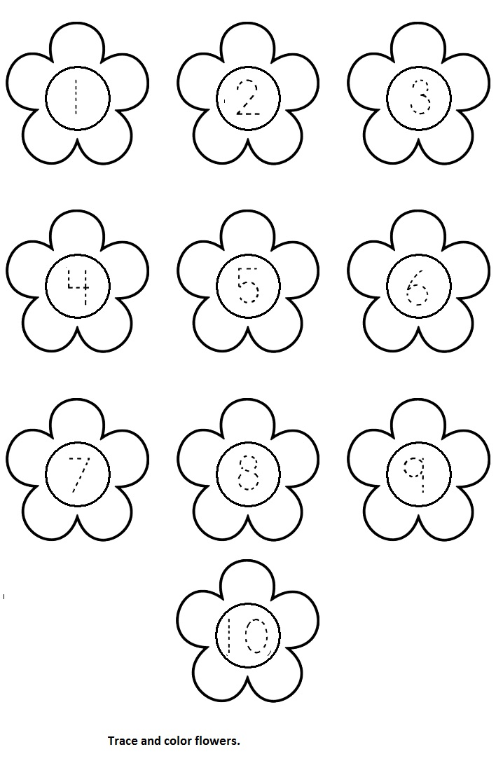 Color worksheets for preschoolers