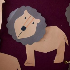 lion craft idea for kids (3)
