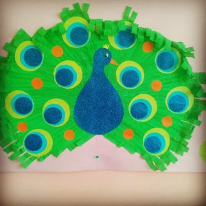 peacock bulletin board (1)