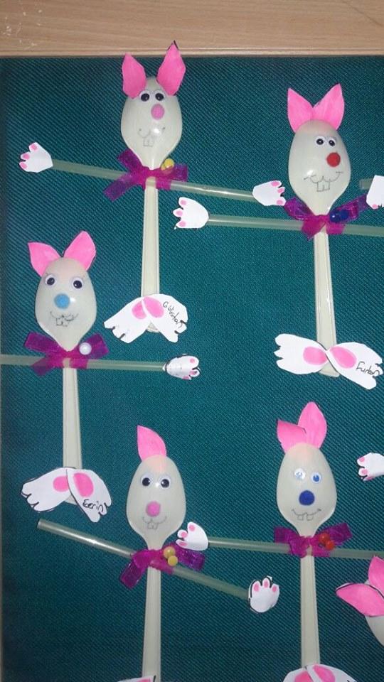 plastic spoon bunny craft4