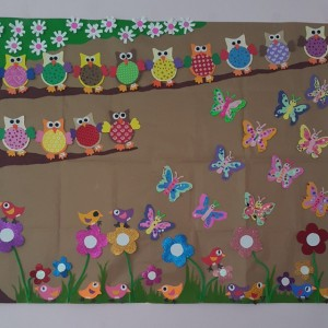 spring bulletin board idea for kids (1)