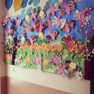 spring bulletin board idea for kids (2)