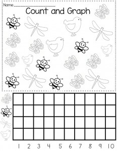 spring graph worksheet