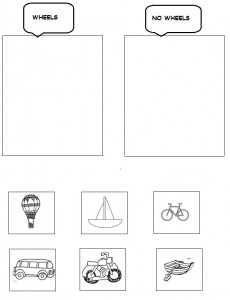 transportation worksheet