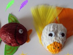 walnut shell craft idea for kids (2)