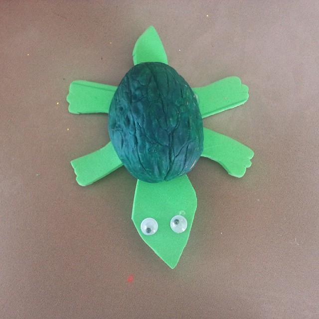 walnut shell turtle craft (4)