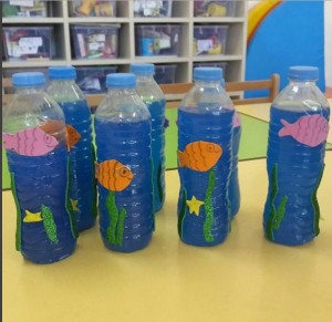 bottle Aquarium craft