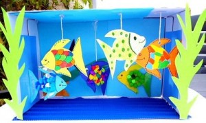 box Aquarium craft