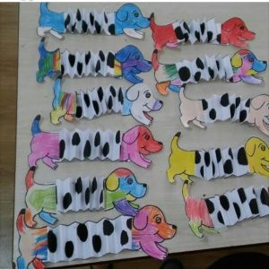 dalmatian dog craft