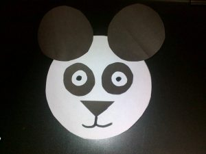 easy panda craft