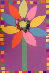 flower craft idea for kids