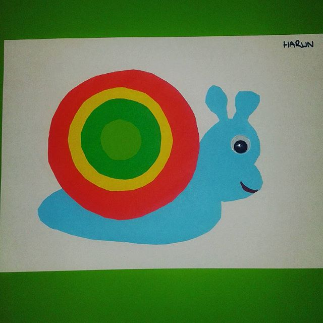 free snail craft idea for kids (1)