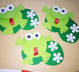 frog craft idea for kids (1)