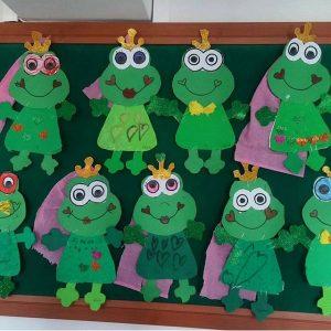 frog craft idea for kids (2)