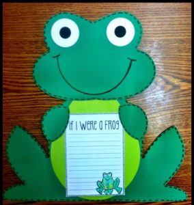 frog craft idea for kids