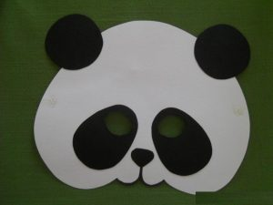 panda mask craft