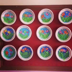 paper plate Aquarium craft (4)