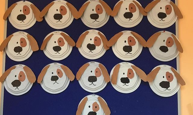 Dog Craft Idea For Kids Crafts And Worksheets For & Dog Paper Plates - Castrophotos