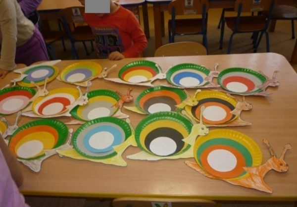 paper plate snail craft idea (2)