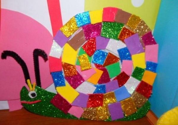 snail craft idea for kids (2)