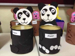 tin can panda craft