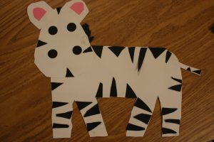 zebra craft