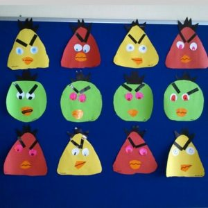 angry bird craft