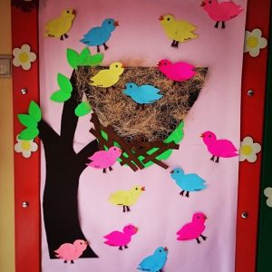 bird bulletin board