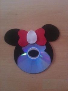 cd mickey mouse craft idea