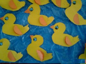 duck craft idea for kids