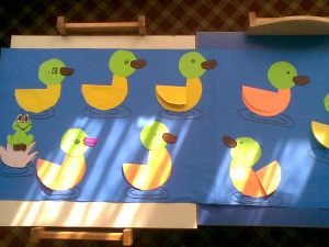 free duck craft idea for kids (1)