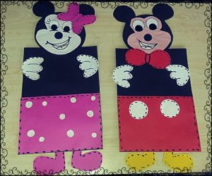 Mickey Mouse Craft Idea For Kids Crafts And Worksheets