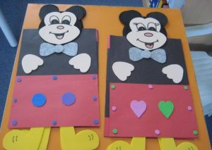 free mickey mouse craft idea for kids