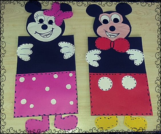 free mickey mouse craft