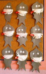 free shark craft idea