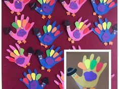 handprin turkey craft idea