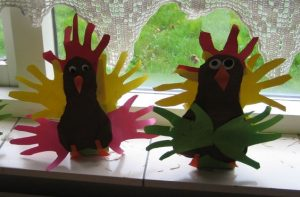 handprint turkey craft (1)