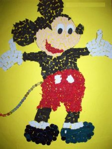 mickey mouse bulletin board