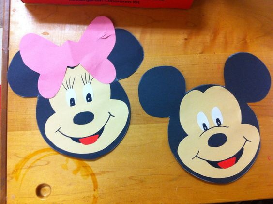 mickey mouse craft idea