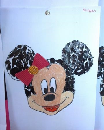 mickey mouse craft with template (3)