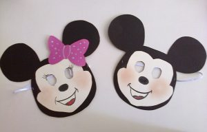 mickey mouse mask craft