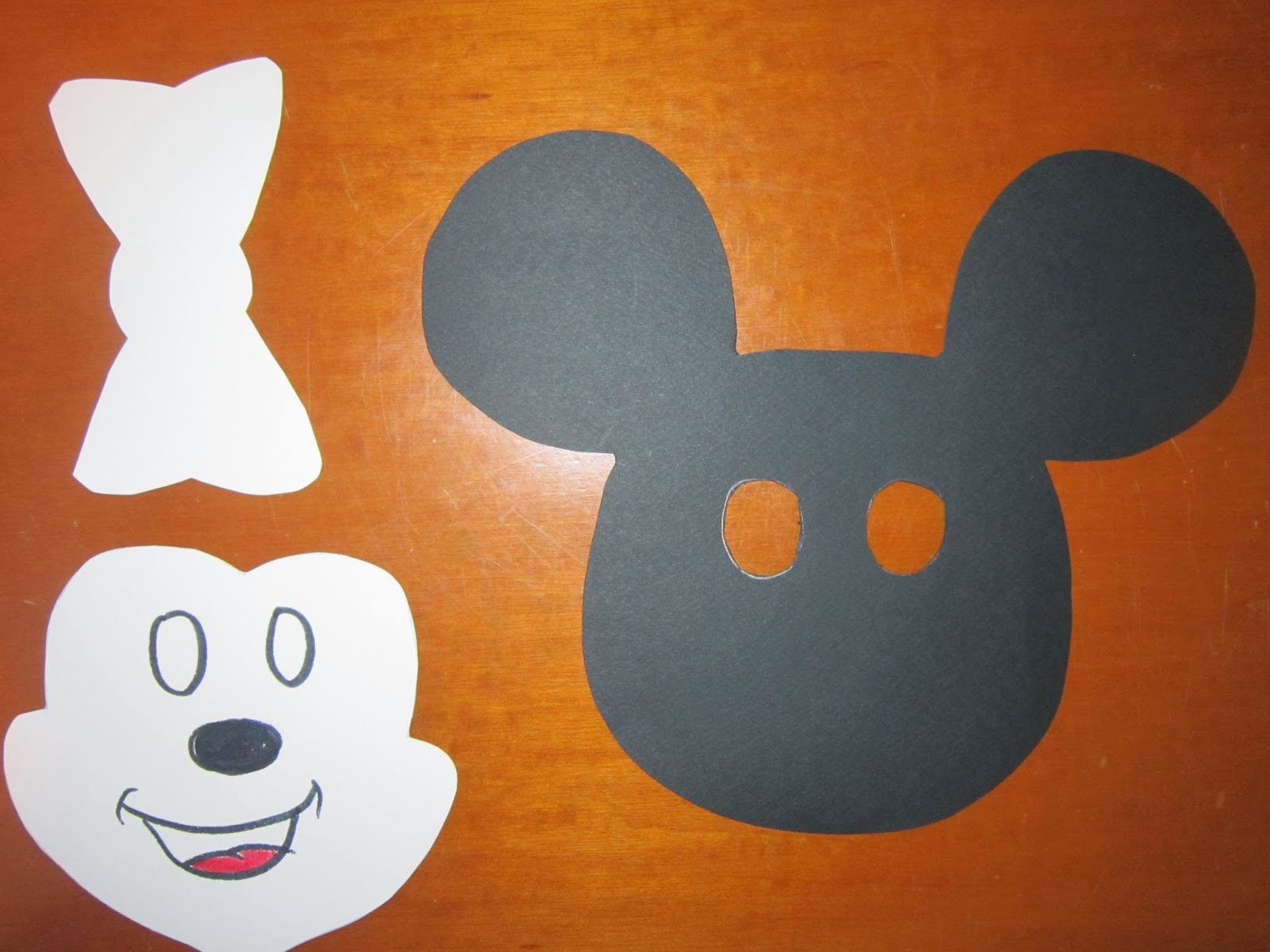 mickey mouse mask template