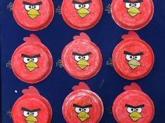 paper plate angry birds craft
