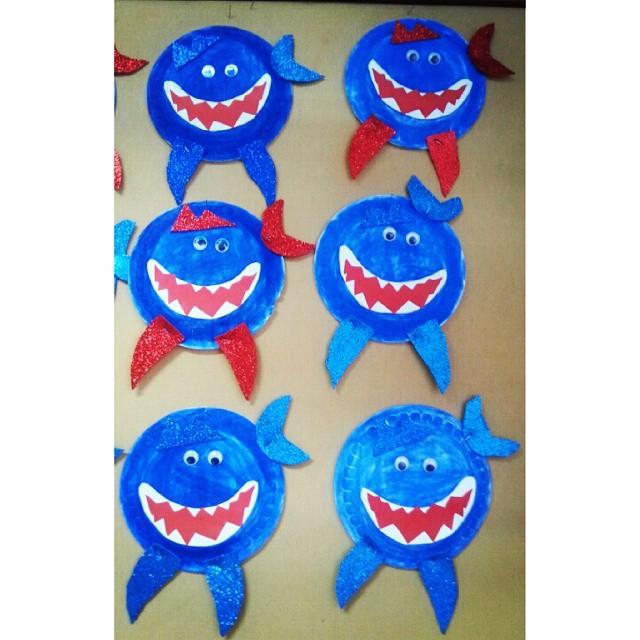 paper-plate-shark-craft-ideas