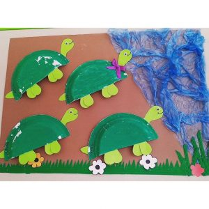 paper plate turtle craft (1)